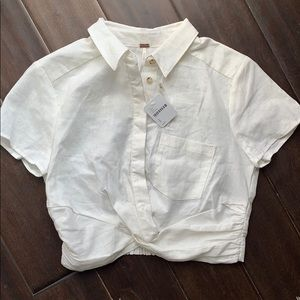 Free People linen room. Small NWT!!